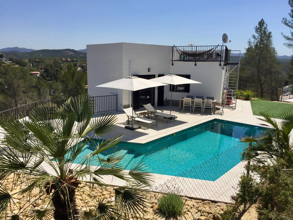 Luxury Holiday Villa With Pool Luxury Holiday Villa In The Hills Near Sitges Olivella With Breathtaking Views Olivella