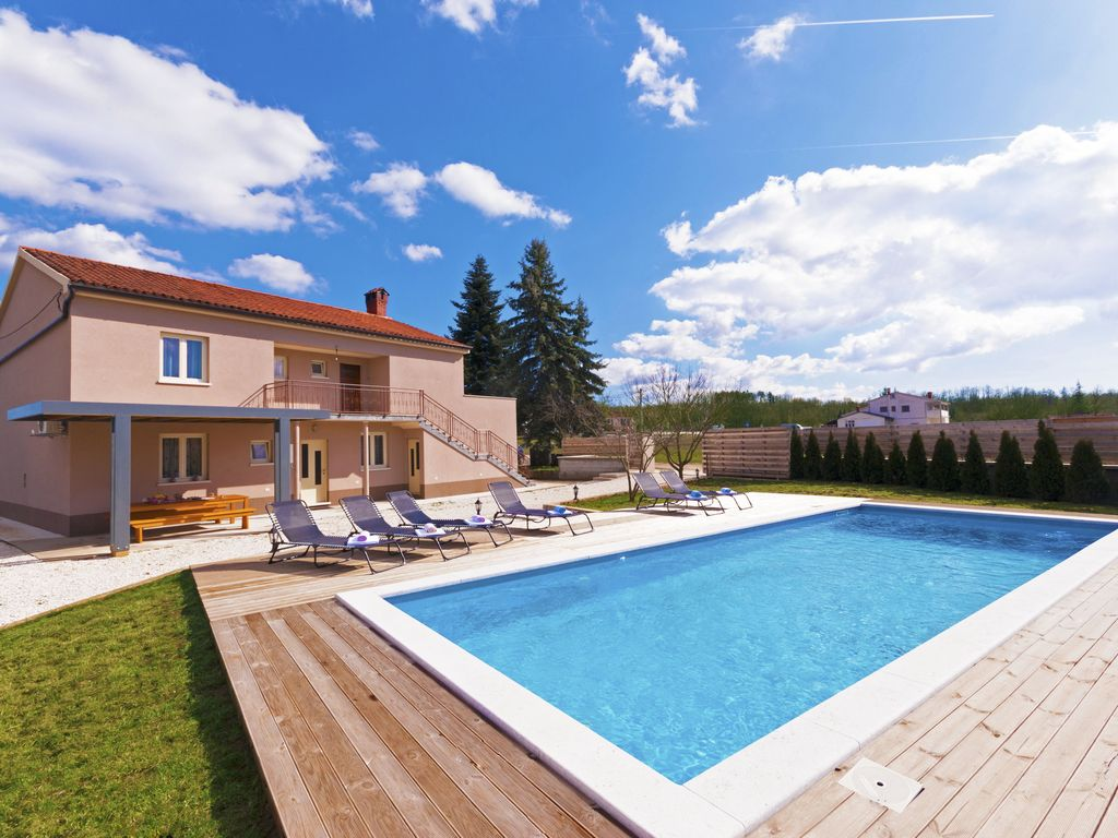 Ferienhaus Istrien Mit Pool Von Privat Ny Smukke Villa Stor Privat Pool I En Afsondret Haven Pazin