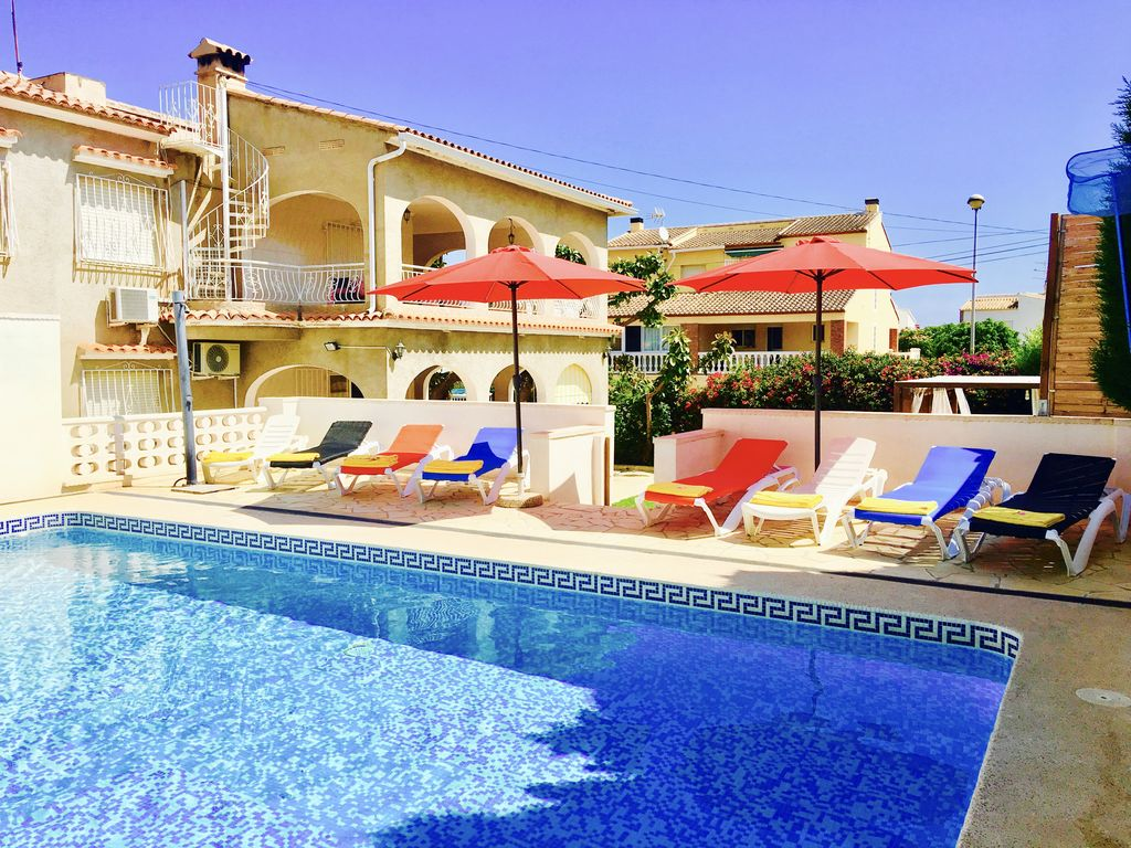 Pool Garten Freiburg Isabel Villa 150m From The Sea Horse Show 5 Klm Oliva