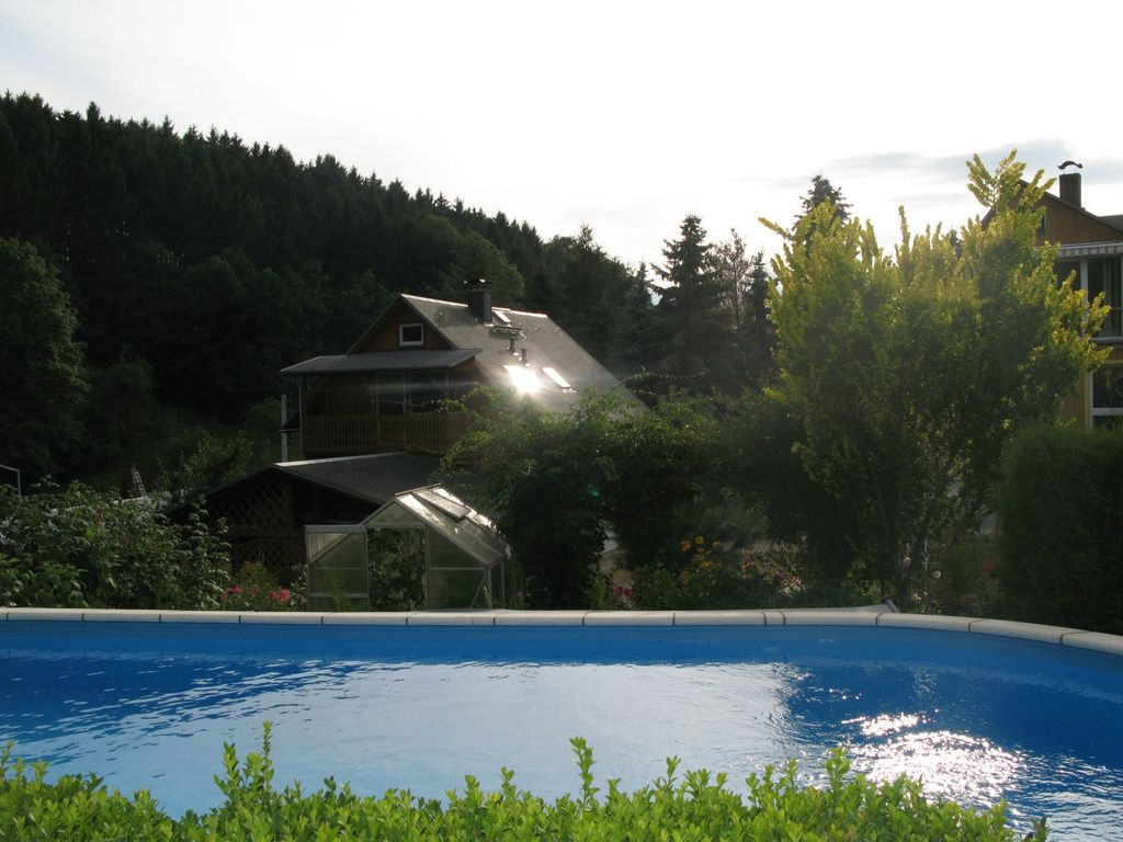 Gartenpool Klein Apartment Saxon Switzerland With A Balcony Fireplace Garden Pool Sebnitz