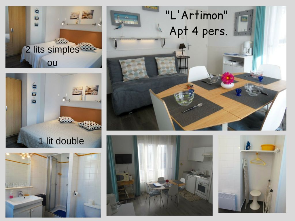 Lit 1 Pers Appt 4 Pers 30m From The Sea Saint Malo Prox Beach Sillon