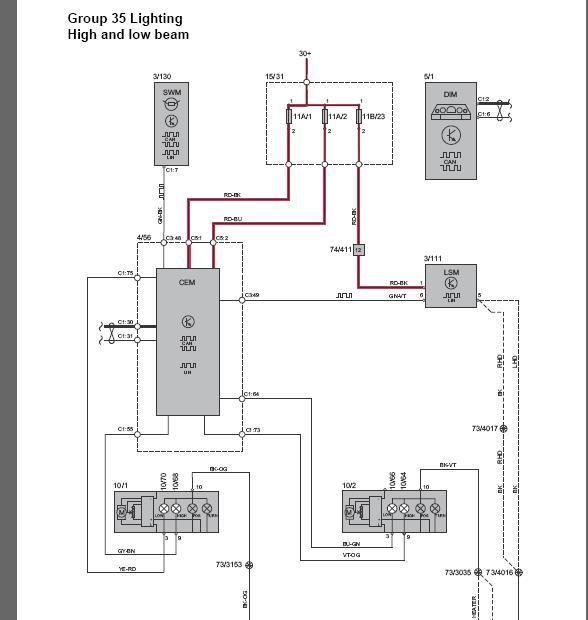VOLVO - VIDA VADIS Service Shop Repair Manual Parts Catalog Wiring