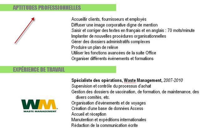 comment coller la photo sur le cv