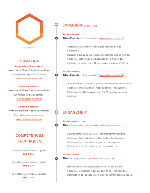 icone cv centres d interets