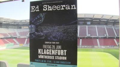 Ed Sheeran kommt ins Klagenfurter Stadion - kaernten.ORF.at