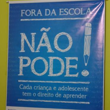 Projeto 'Fora da Escola Não Pode' é lançado em Sena