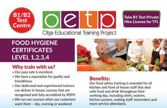 health and safety food hygiene test - Minimfagency