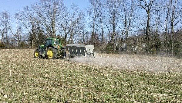 Water Wednesday: Lime Spreader Equipment Rental - Ohio Farm Bureau