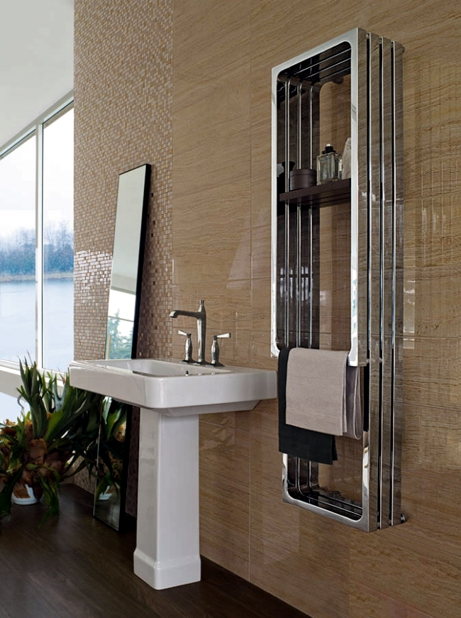 Radiator Design For Practical And Stylish Towels In The