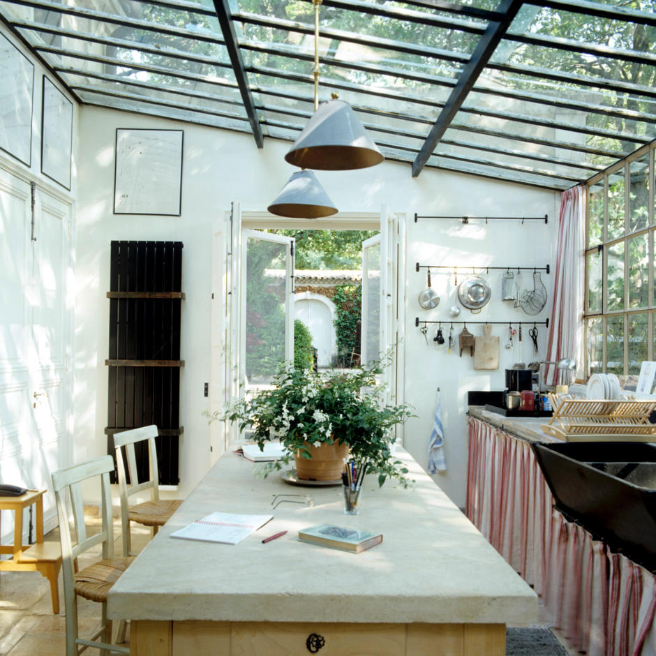 Schwedische Einrichtung Kitchen On The Veranda | Interior Design Ideas - Ofdesign