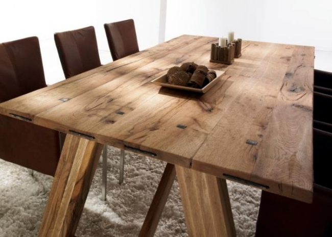 Esstisch Holz Massiv Modern Dining Tables Solid Wood Provide A Warm Atmosphere