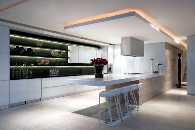 Led Keuken Strip 33 Ideas For Beautiful Ceiling And Led Lighting