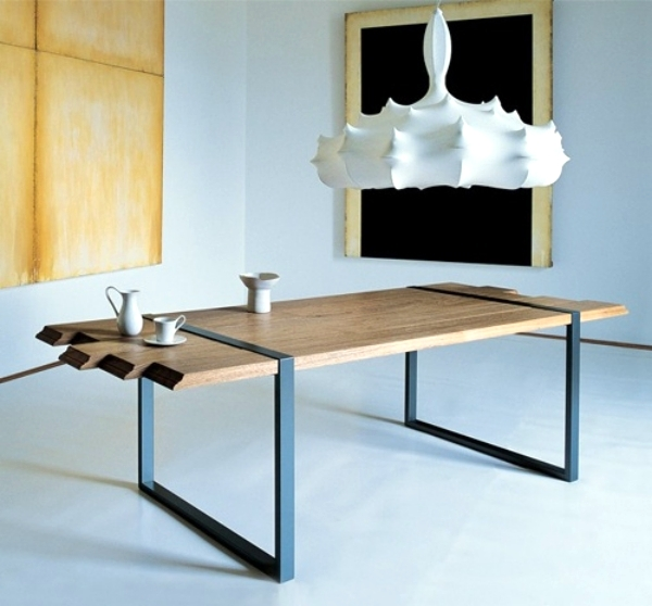 Metallbeine Tisch 20 Ideas For Innovative Dining Table Designs For The