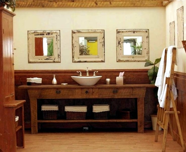Badschrank Waschbecken 20 Ideas For Rustic Bathroom – Bathroom Furniture Made Of