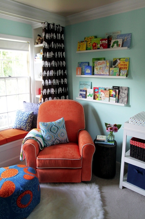 Rocking Chair Eames 30 Cool Ideas On How To Set Up The Reading Corner In The