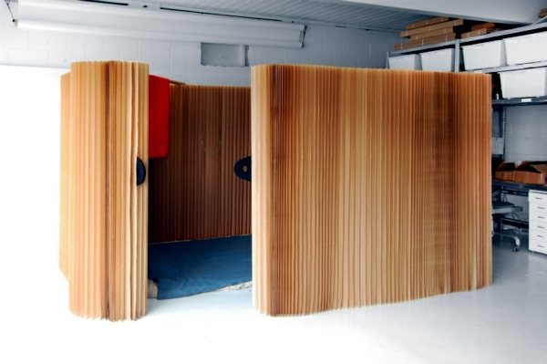 Flexible Room Divider Made Of Paper The Modern Partition - Flexible Raumteiler