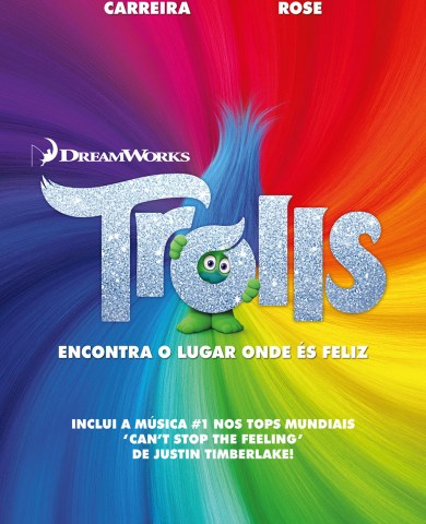 """Poster for the movie """"Trolls"""""""