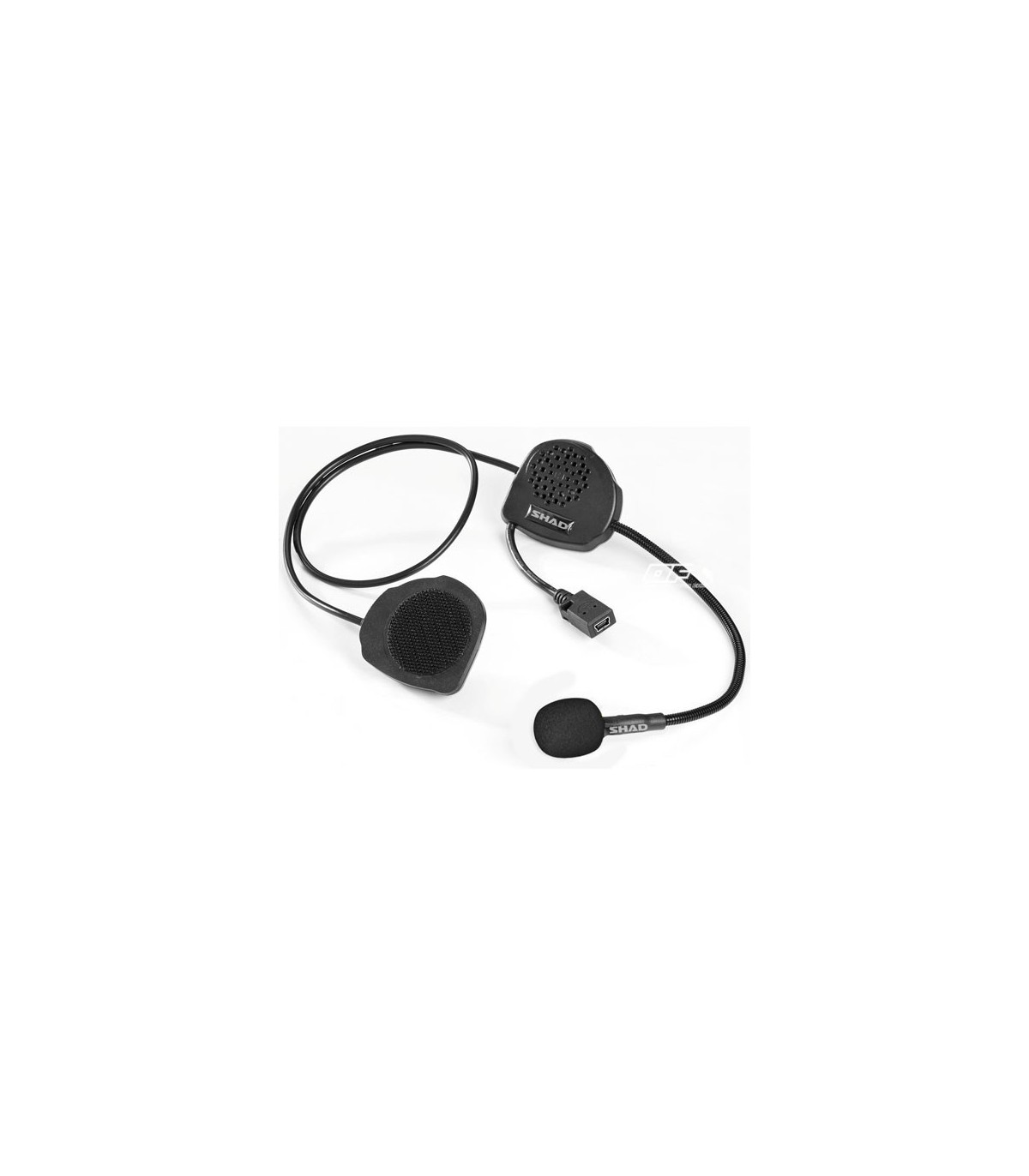 Kit Bluetooth Manos Libres Shad Bc03 Intercomunicador Manos Libres Para Casco Moto