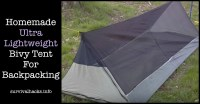 Homemade Ultra Lightweight Bivy Tent For Backpacking - Off ...