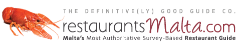 restaurants malta, most authoritive restaurant guide