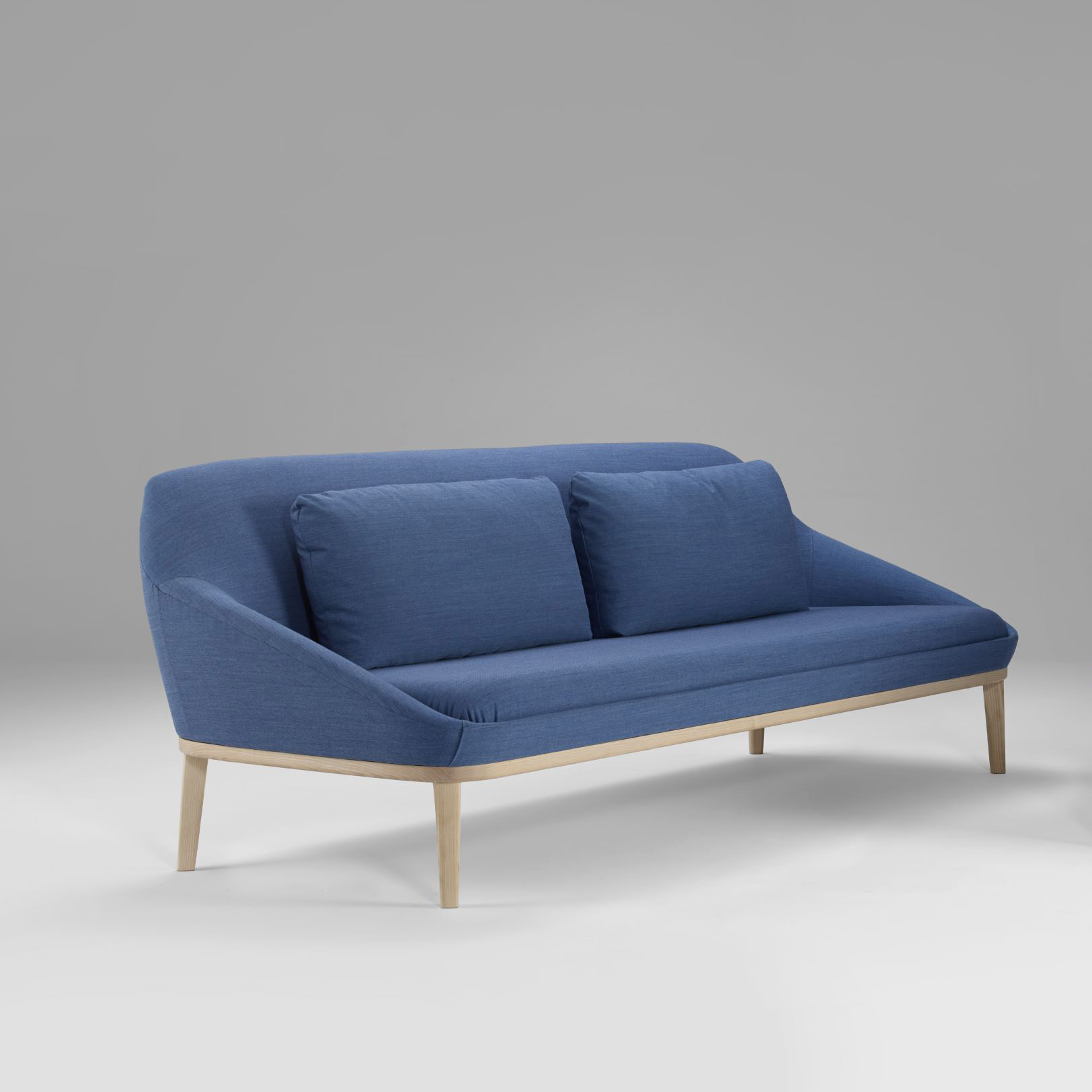 Futon Factory Paris Ezy Wood Modern Sofa Furniture By Christophe Pillet Offecct