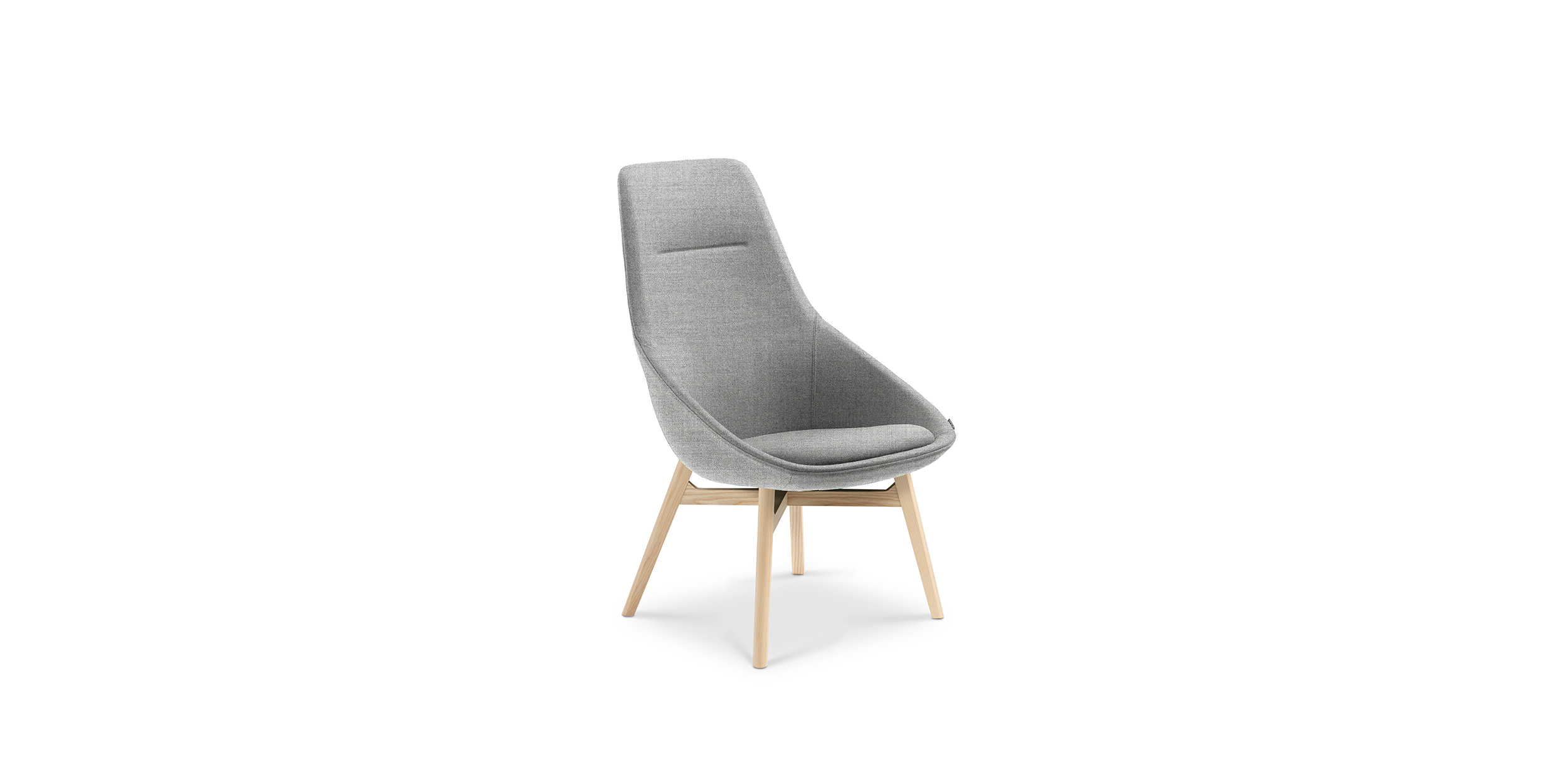 Low Comfy Chairs Ezy Wood High Chair Comfy Design By Christophe Pillet