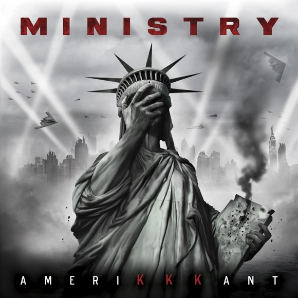 Ministry - AmeriKKKant - Artwork