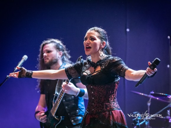 Sirenia in Munich, 04.03.19