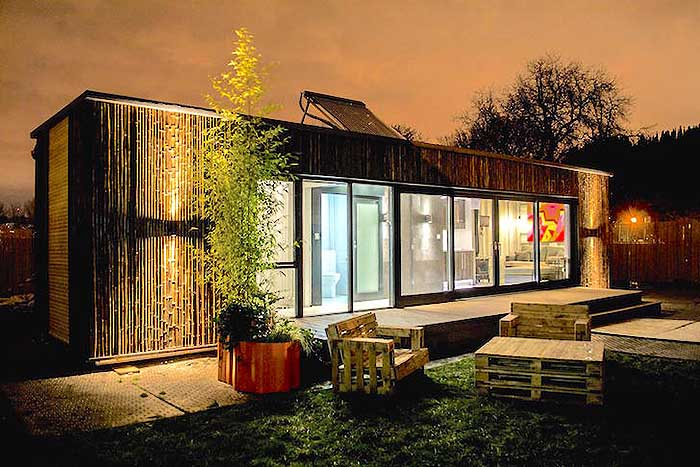 Container House Ireland's First Shipping Container Home Built In 3 Days