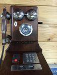 【電話機】デルビル磁石式風の公衆電話機