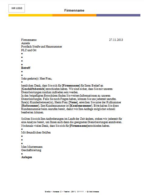 Word Briefvorlage Nach Din-Norm Erstellen Und Speichern - Office