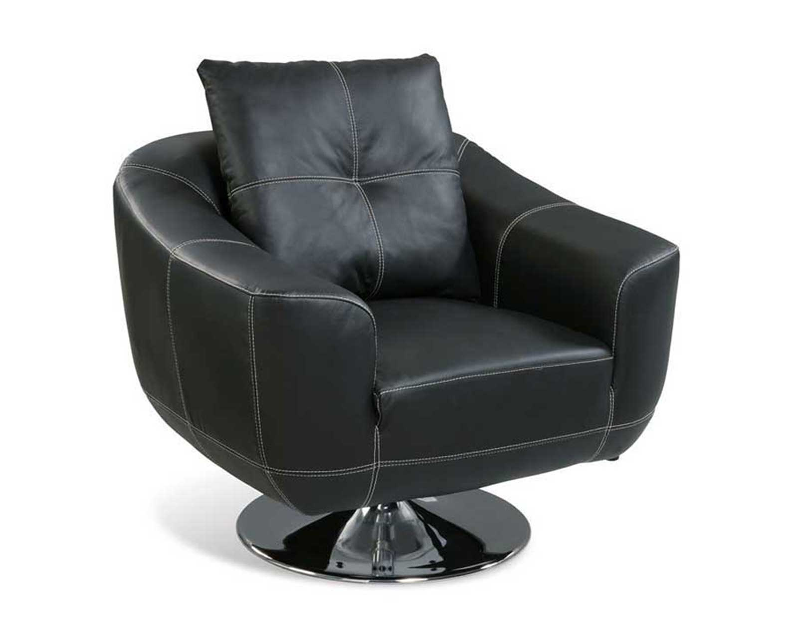 Leather Swivel Chairs For Home Office User