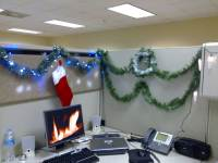 Office Cubicle Christmas Decorating Ideas | Ideas ...