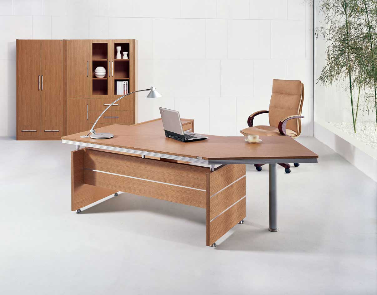 Oak office desk benefits for home office corner