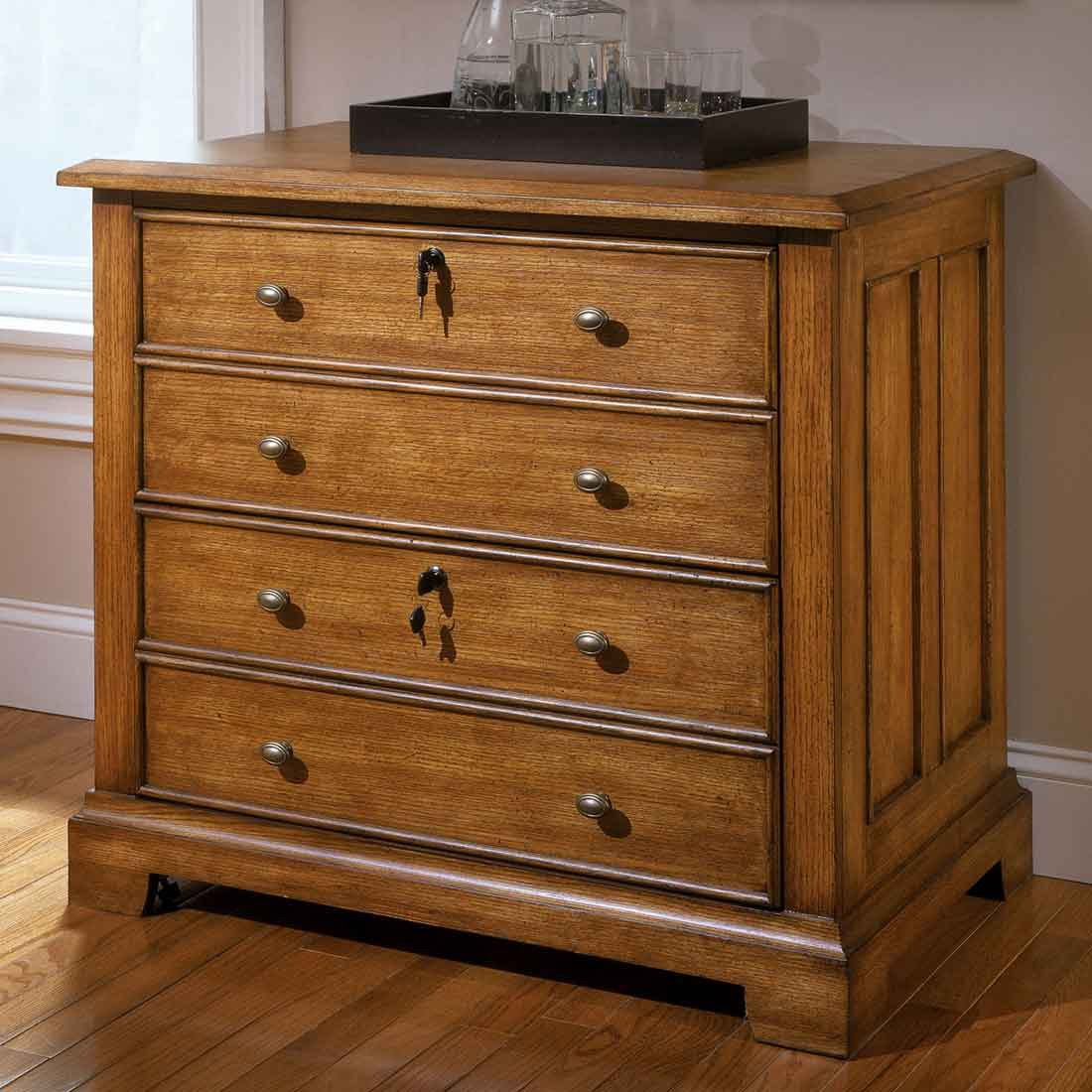 Wood File Cabinet Wood Lateral File Cabinets For The Home Office