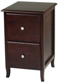 2 drawer lateral wood file cabinet