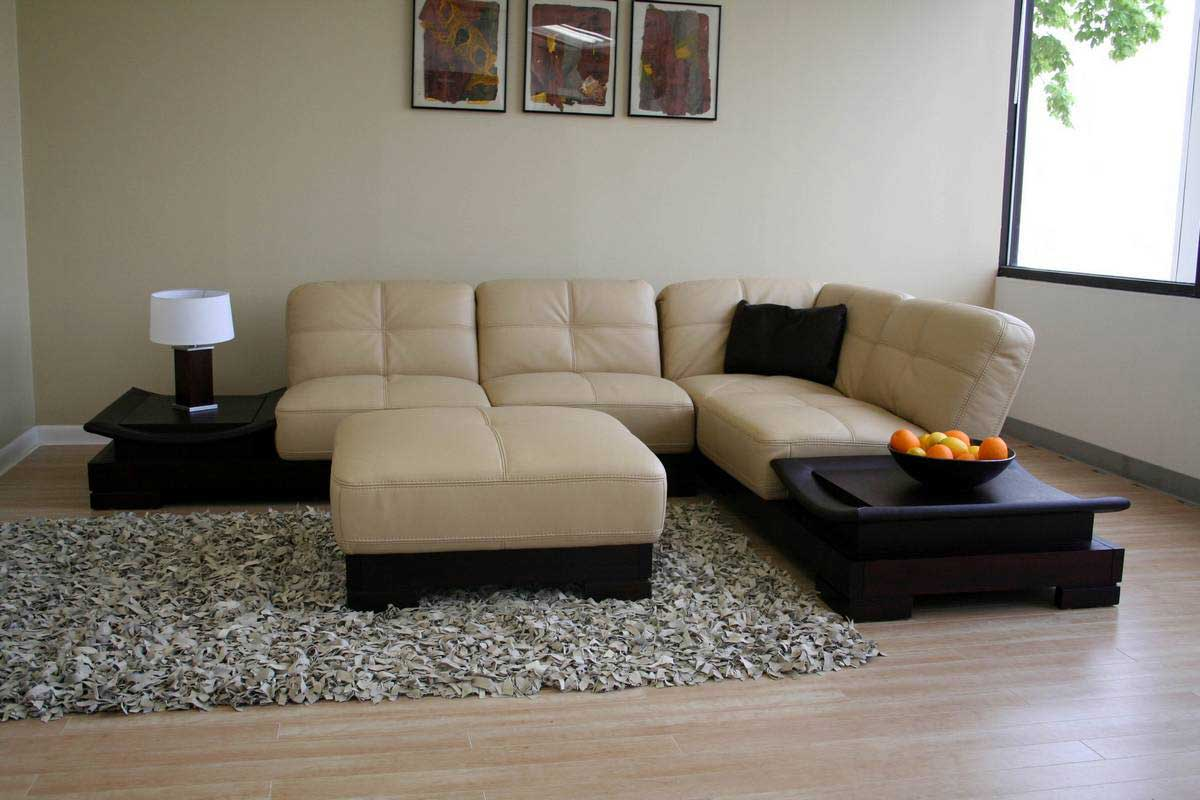 Sectional Couch Square Corner Reclining