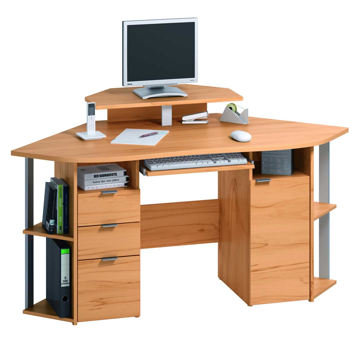 Compact Modern Desk Contemporary Computer Desk Office Furniture