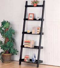 PDF DIY Leaning Ladder Bookshelf Plans Download log home ...
