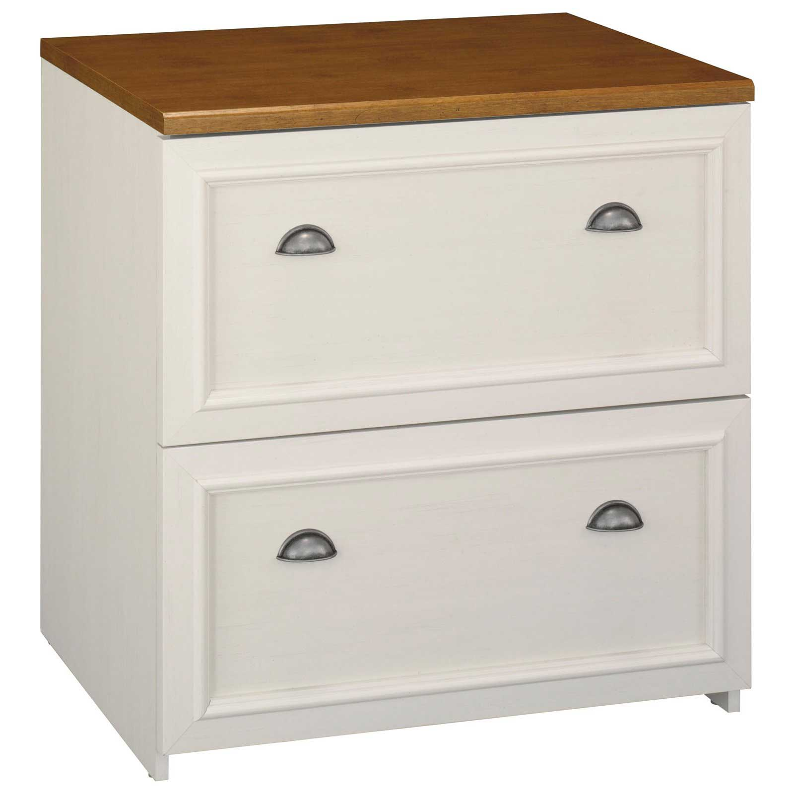 2 Drawer File Cabinet Antique White File Cabinets Office Furniture
