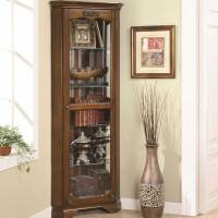 CABINET CORNER CURIO DOOR GLASS  Cabinet Doors