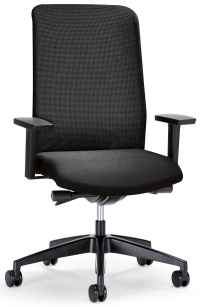 black leather desk chair | Office Furniture