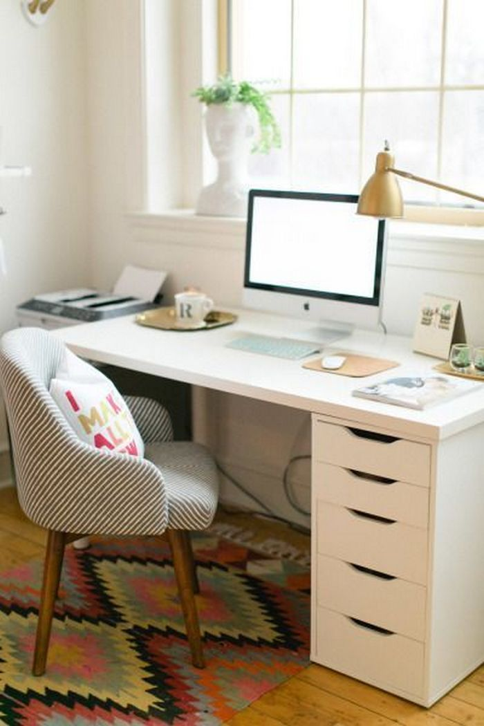 Ikea Long Desk Organize Your Home Office With These Storage Solutions