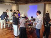 「CoderDojo梅田」や「CoderDojo西宮」を運営している細谷さん達の大阪でのイベントに参加しました。