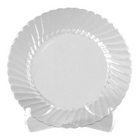 Classicware Clear Plastic Plates 9 Pack Of 180 by Office ...