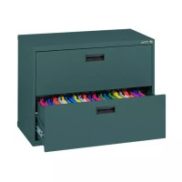 Sandusky 400 Series Steel Lateral File Cabinet 2 Drawers ...