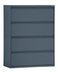 Sandusky 800 Series Steel Lateral File Cabinet 4 Drawers ...