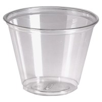 Dixie Crystal Clear Plastic Cups 9 Oz. Pack Of 50 by ...