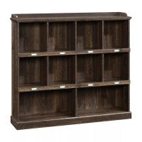 Sauder Barrister Lane Cubby Bookcase Iron Oak by Office ...