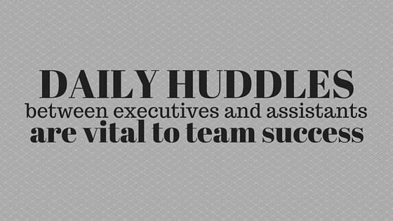 daily huddles